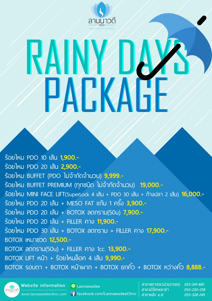 Rainy Day Package